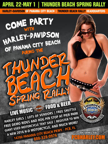 calendar events | harley-davidson® of panama city beach florida