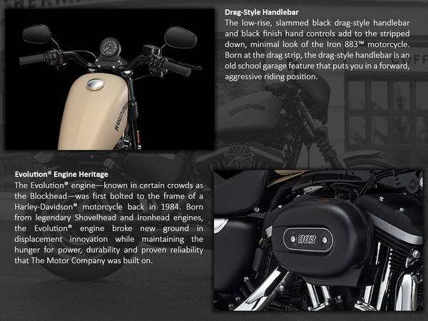 2014 Harley-Davidson® Sportster® Iron 883™ | Harley-Davidson® of