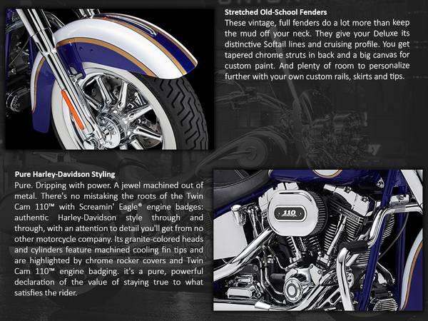 2014 Harley-Davidson® CVO™ Softail® Deluxe | Roughrider Harley-Davidson®