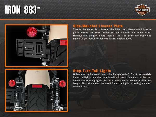 2015 Harley-Davidson® Sportster® Iron 883™   Arrowhead