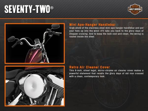2015 Harley-Davidson® Sportster® Seventy-Two®   Route 66