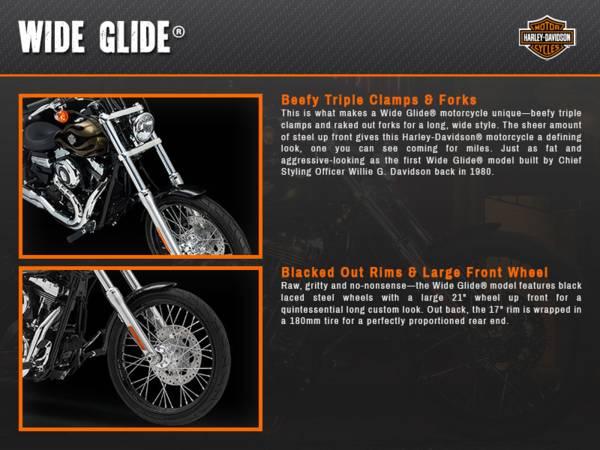 2015 Harley-Davidson® Dyna® Wide Glide® | Harley-Davidson