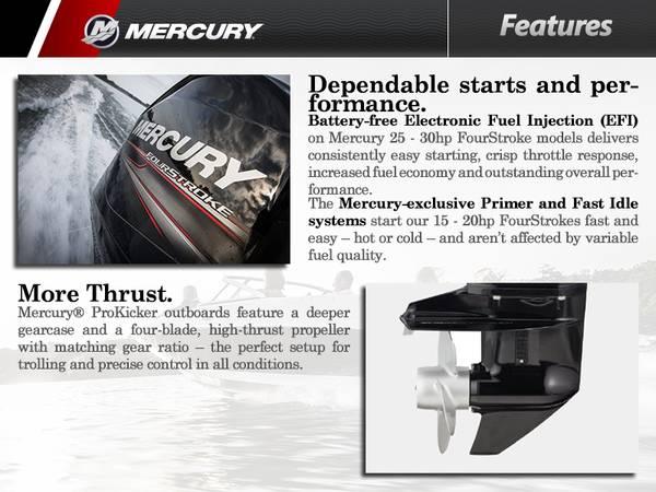 2015 Mercury Marine® 15 hp | Frontenac Harbor