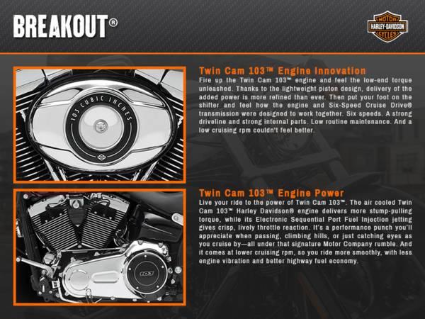 2015 Harley-Davidson® Softail® Breakout® | Keystone Harley