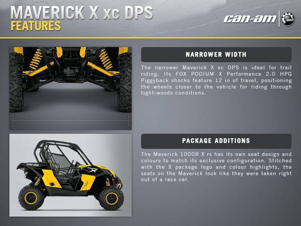 2015 Can-Am® Maverick™ X® xc DPS™ | FFUN Motorsports