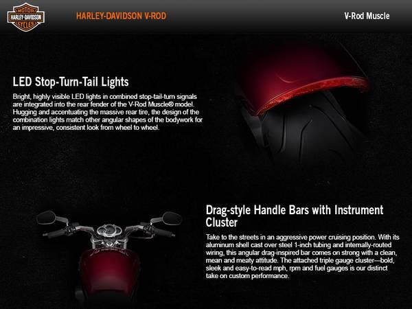 2016 Harley-Davidson® V-Rod Muscle®   Black Diamond HD®