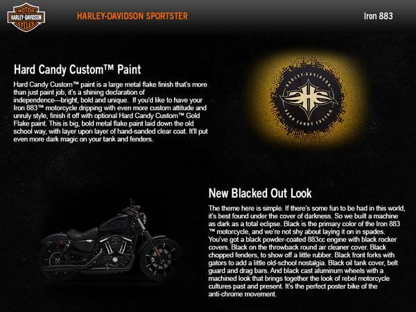 2016 Harley-Davidson® Sportster® Iron 883™ | Edge Harley