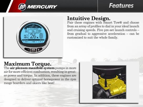 2016 Mercury Marine® TowSport Inboards   Boat Masters Marine