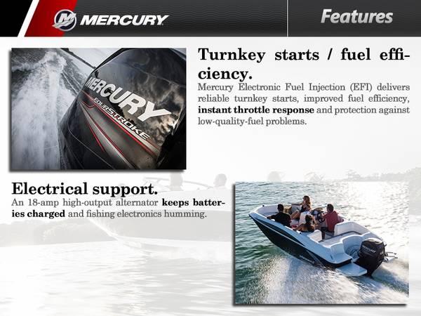2016 Mercury Marine® 50 hp   Zacho Sports Center