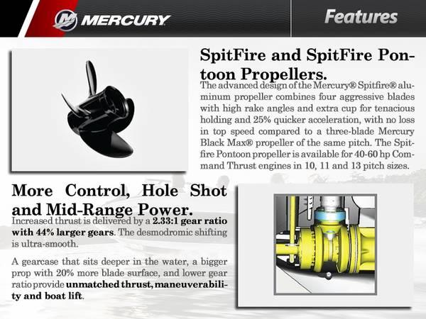 2016 Mercury Marine® 50 hp | Zacho Sports Center