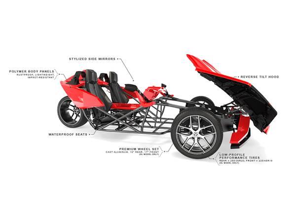 2016 Polaris Slingshot® Reverse Trike   Gables Motorsports