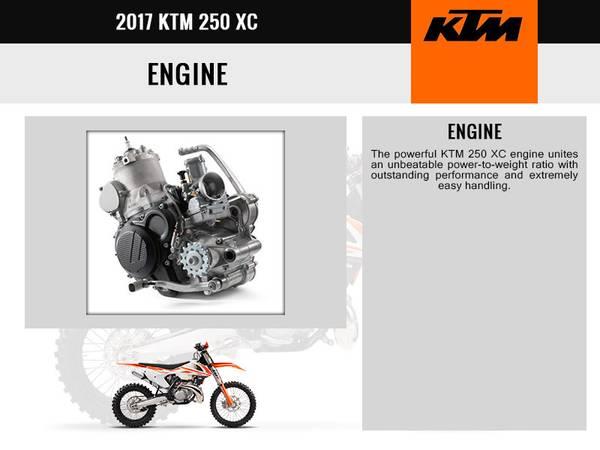 2017 KTM 250 XC | Freedom Cycles