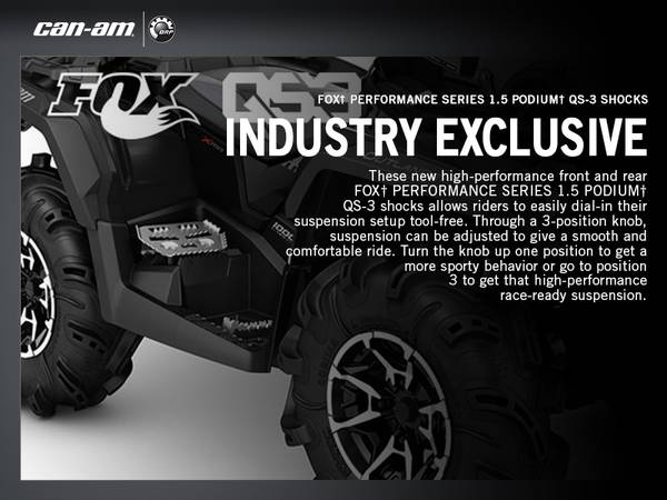 2017 Can-Am® Outlander™ X® mr | Crossbay Motorsports