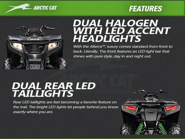 2017 arctic cat alterra 700 xt eps grizzly harley davidson highlights aloadofball Images