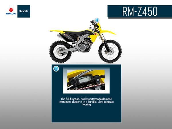 2017 suzuki rmx450z olathe suzuki rh olathesuzuki com 2018 Suzuki RMX450Z 2017 Suzuki RMX450Z