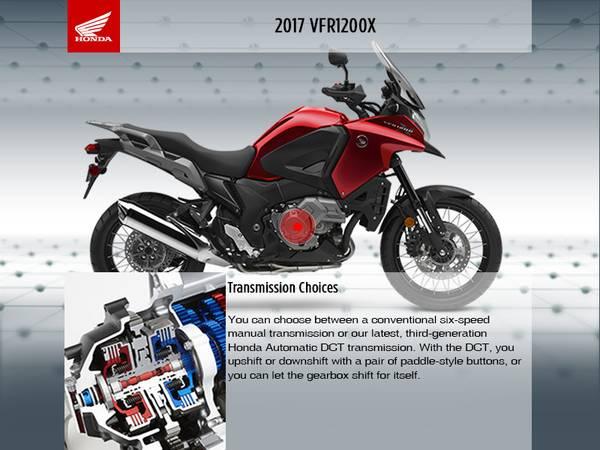 2017 Honda® VFR1200X | Sun Sports Cycle & Watercraft