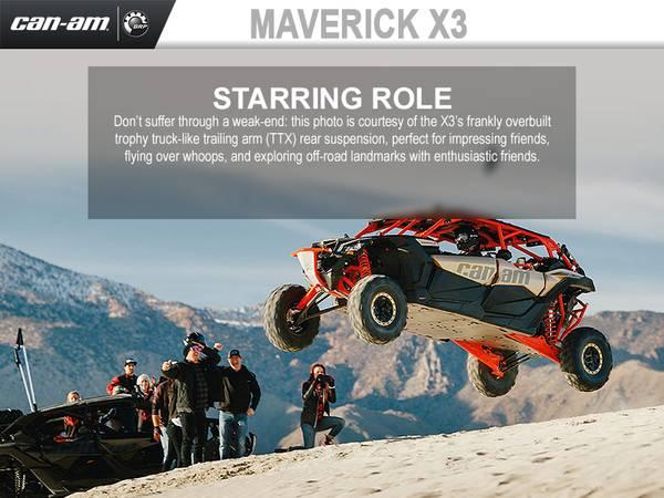 2018 Can-Am® Maverick™ X3 MAX | Fox Powersports
