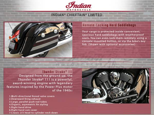 2018 Indian Motorcycle® Chieftain® Limited | McGrath Powersports