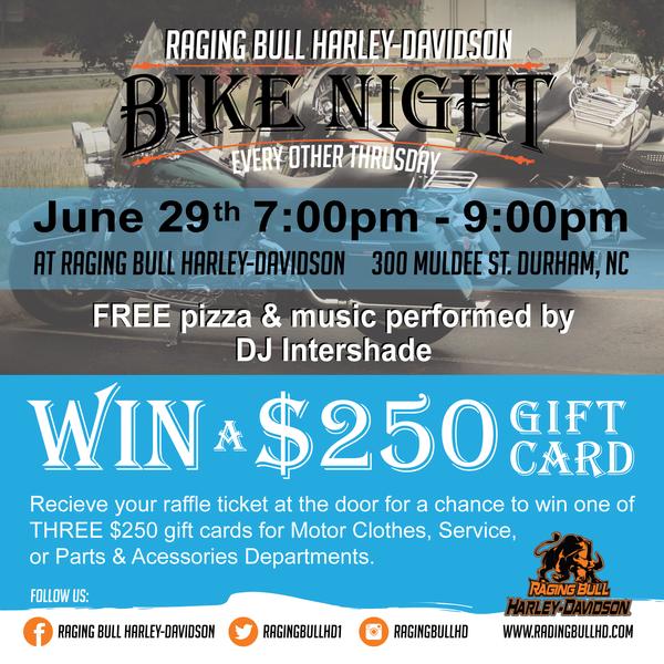 event calendar | raging bull harley‑davidson® | durham north carolina