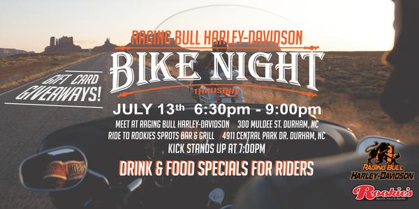 calendar events   raging bull harley‑davidson®   durham north carolina