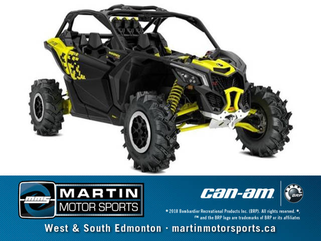 Martin Motorsports Edmonton >> 2019 Can-Am® Maverick™ X3 X™ mr Turbo | Martin Motor Sports