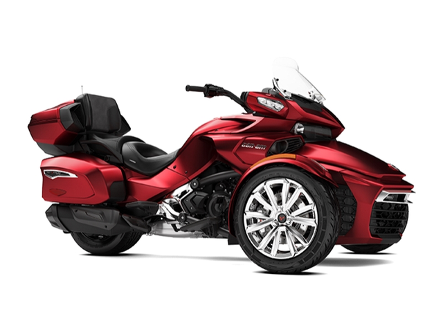 2018 can am spyder f3 limited chrome ridenow on rancho. Black Bedroom Furniture Sets. Home Design Ideas