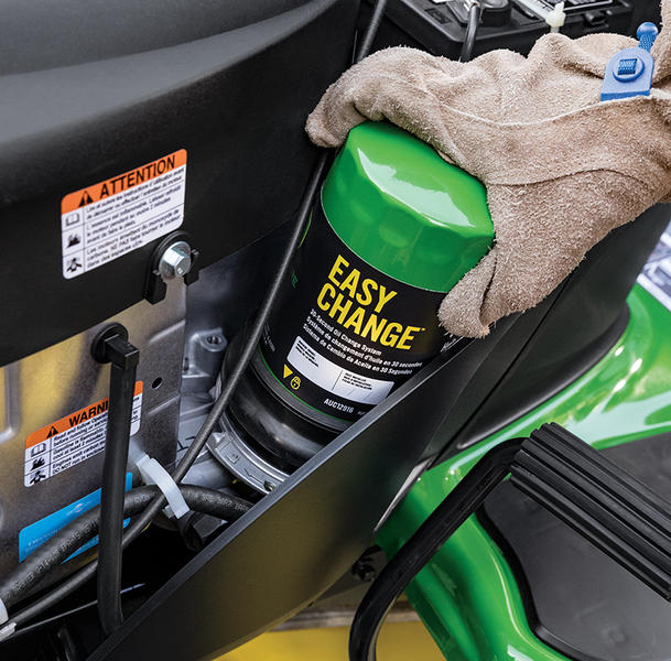 The 30 Second Oil Change New With John Deere 100 Series