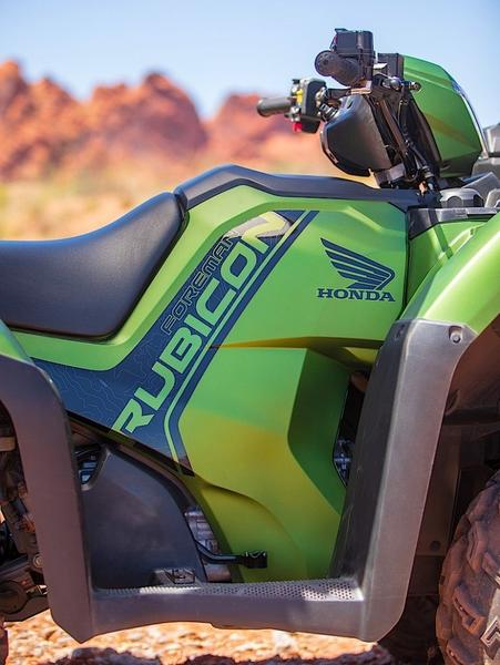 In Depth Look At The 2020 Honda Rancher Foreman And Rubicon