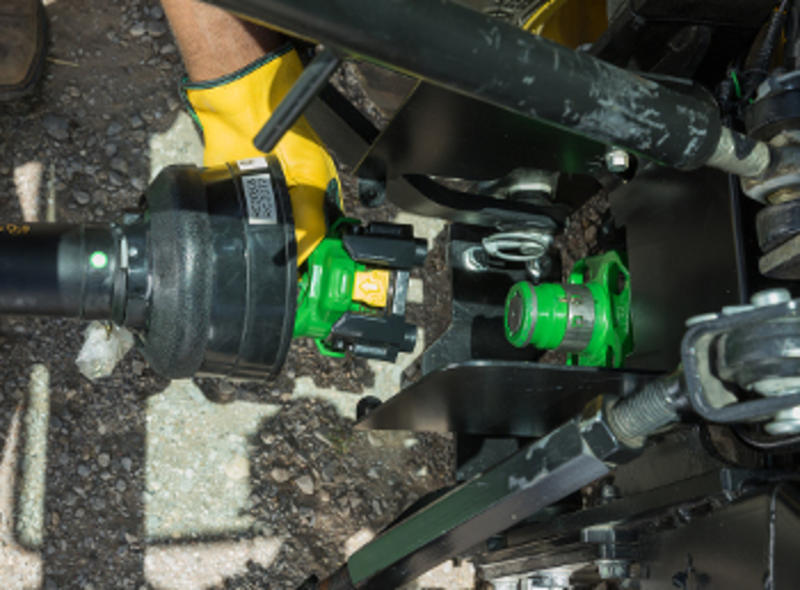 New John Deere Quik Knect Pto System