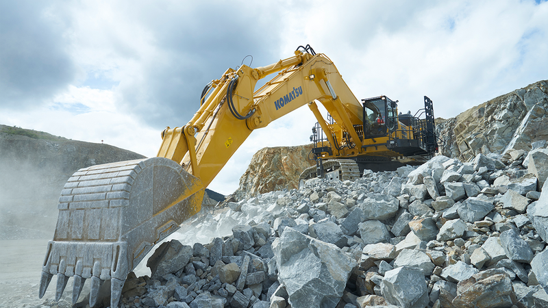 Komatsu America Corp  introduces the new PC1250SP-11 and