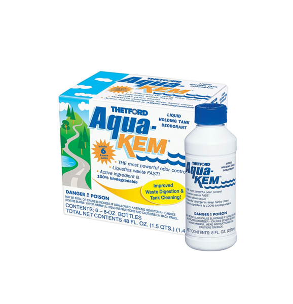 Aqua-kem tank treatment and deodorizer