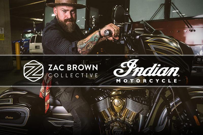 Zac Brown Collective 2019 Indian Chieftain Dark Horse