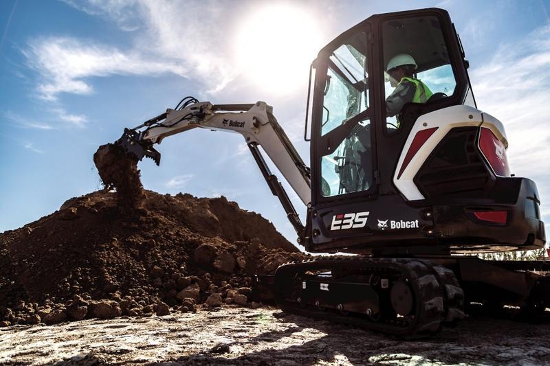 New Bobcat R-Series Excavators | Best Line Equipment | Muncy