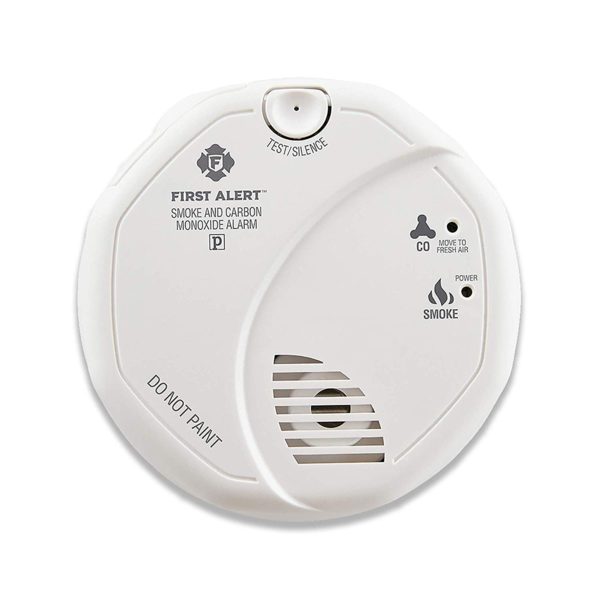First Alert smoke detector and carbon monoxide detector combo