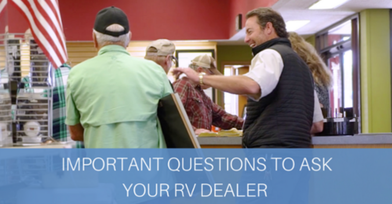 What To Ask An Rv Dealership When Buying An Rv Pharr Rvs