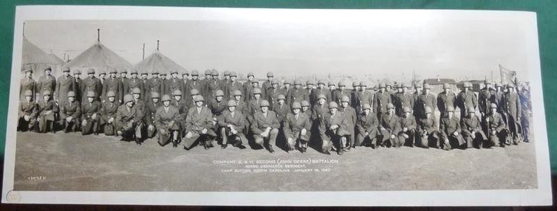 WWII Camp Sutton Company F 2nd (John Deere) Battalion