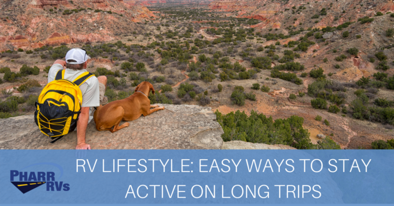Easy Ways To Stay Active On Long Trips Pharr Rvs