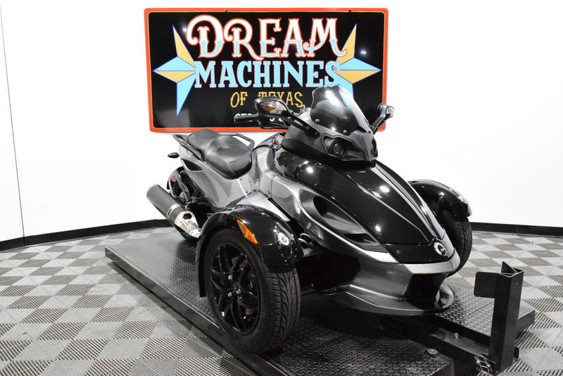 Can-Am Spyder RS-S SM5 -- Dream Machines of Texas 2011 Can-Am Spyder RS-S SM5  19245 Miles Black
