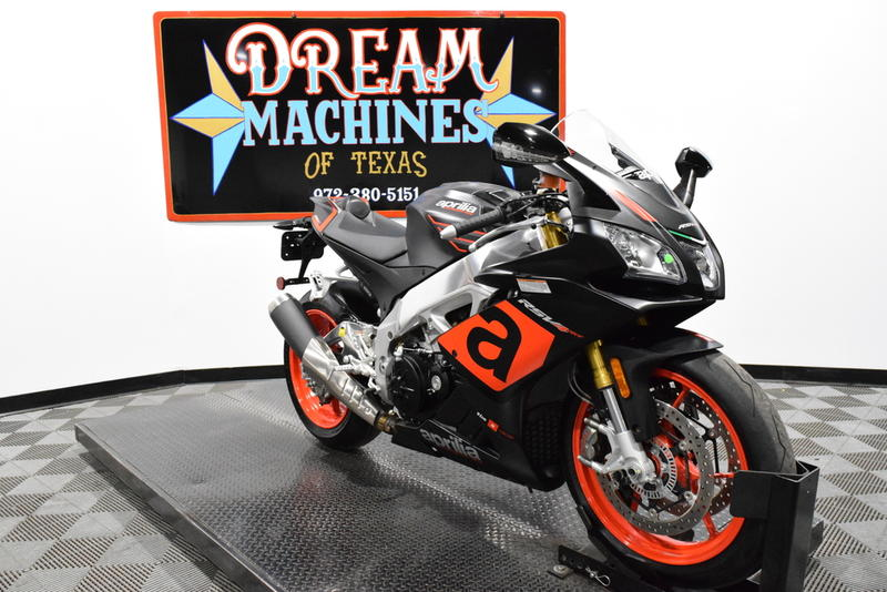 Aprilia RSV4 RR ABS -- Dream Machines of Texas 2016 Aprilia RSV4 RR ABS  639 Miles Black