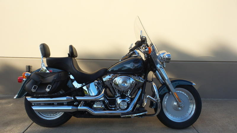 Swell 2001 Harley Davidson Flstfi Fat Boy Injection Paradise Creativecarmelina Interior Chair Design Creativecarmelinacom