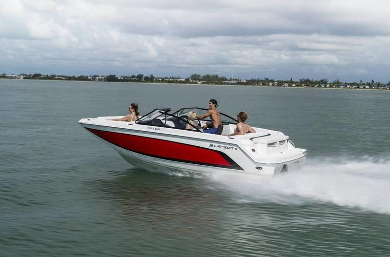 2016 Larson boat for sale, model of the boat is LXH 190 IO & Image # 3 of 16