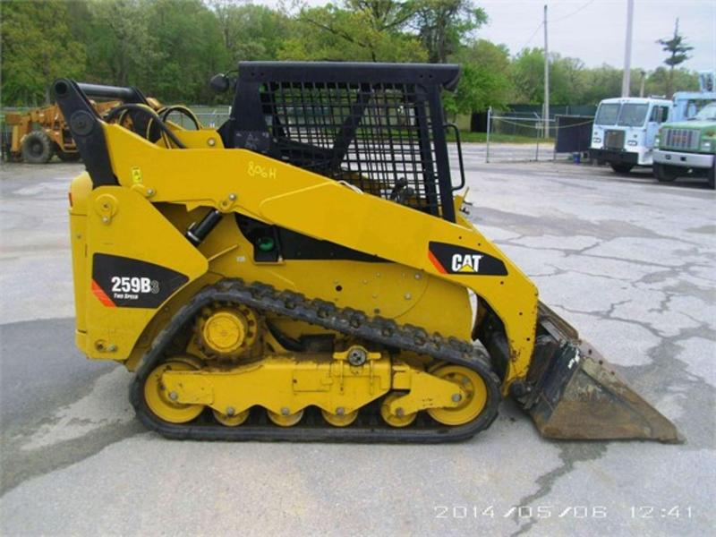 2011 CATERPILLAR 259B3 SKID STEER CRAWLER 485117 Skid Steer Crawler