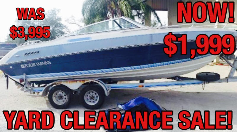 Used  1988 Four Winns Cuddy Cabin Runabout in Marrero, Louisiana