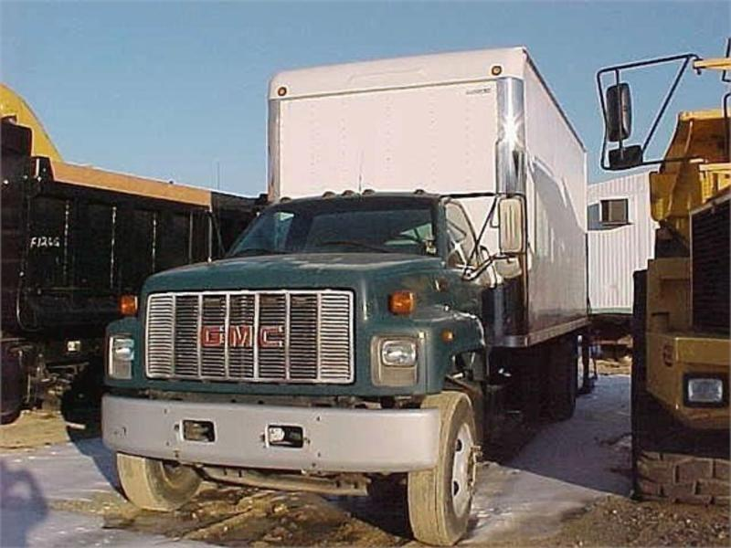 USED 1999 GMC TOPKICK C7500 BOX VAN TRUCK #412233