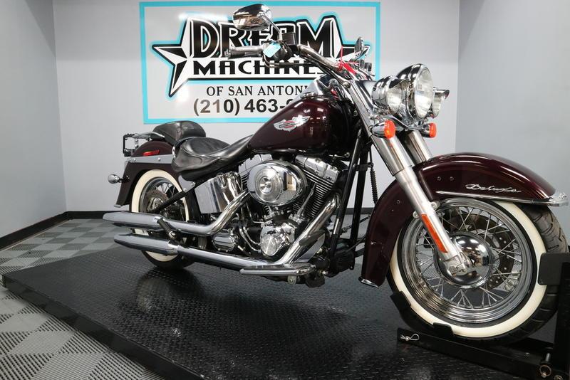 Harley Davidson San Antonio >> 2005 Harley Davidson Flstn Softail Deluxe Dream
