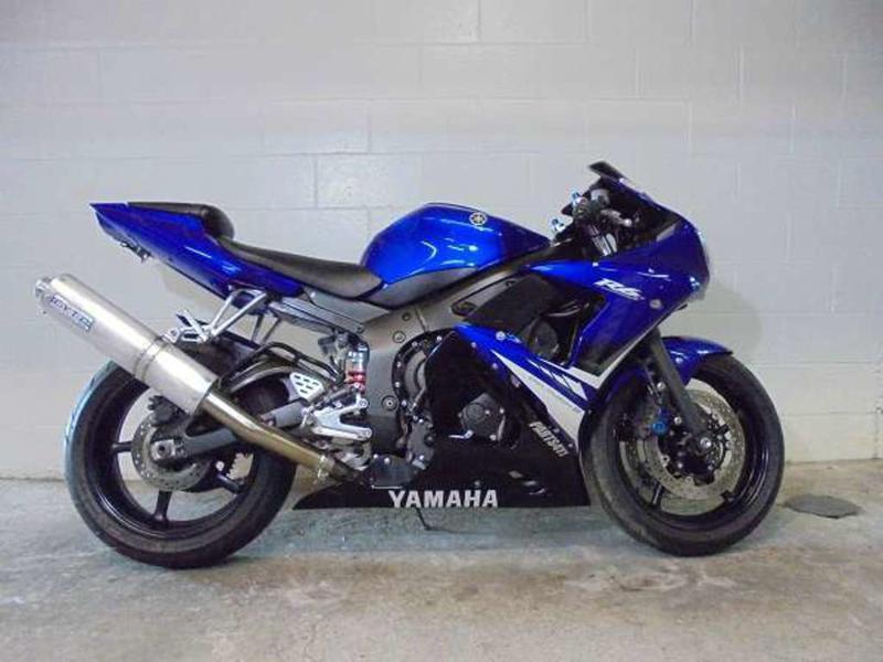 2008 Yamaha R6 1