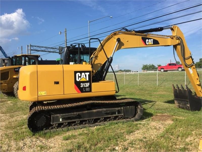 USED 2016 CATERPILLAR 313FLGC CRAWLER EXCAVATOR EQUIPMENT #543271