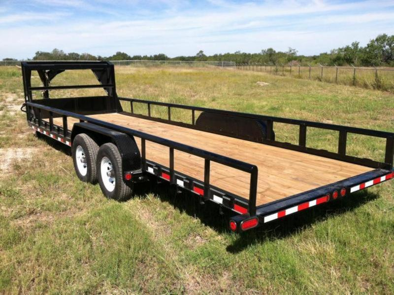 Tiny Home Designs: 2018 PJ Trailers Gooseneck Squaretop Equipment Trailer 24