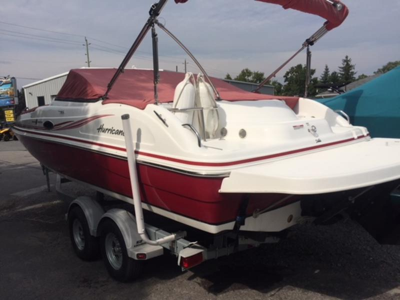 For Sale: 2014 Hurricane 217 Io ft<br/>Bay Marine