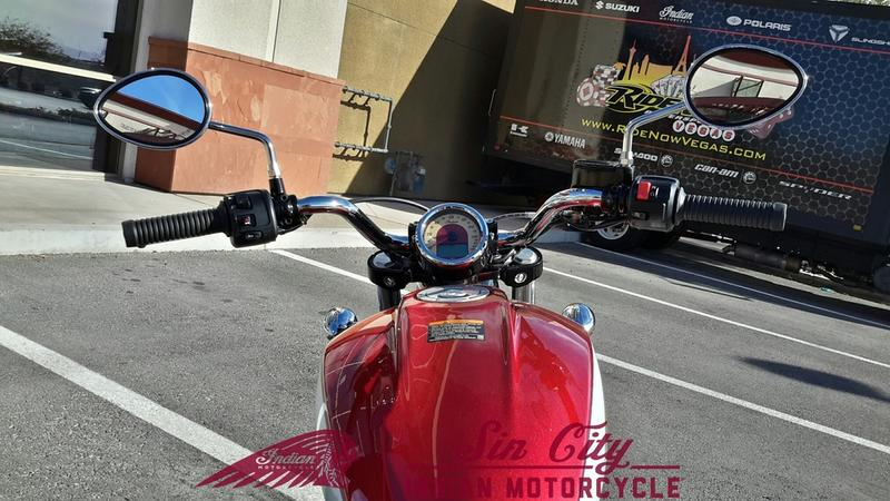 2019 Indian Motorcycle® Scout® Icon Series Ruby Metallic